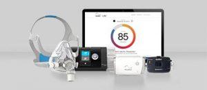 La santé connectée pour les troubles respiratoires du sommeil-promo-insert-ResMed Suisse