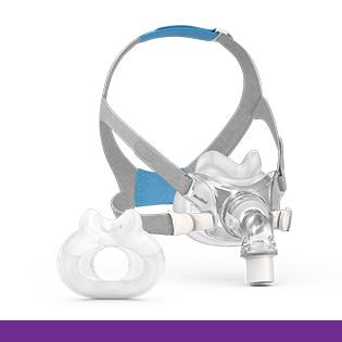 Minimalistische-ResMed-AirFit-F30-Full-Face-CPAP-Maske