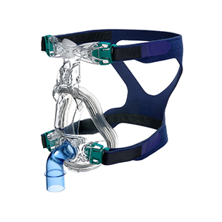Ultra-Mirage-non-vented-full-face-mask-left-view-resmed