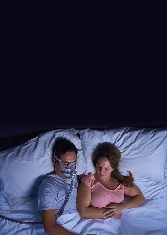 sleeping-with-airtouch-f20-mask-resmed